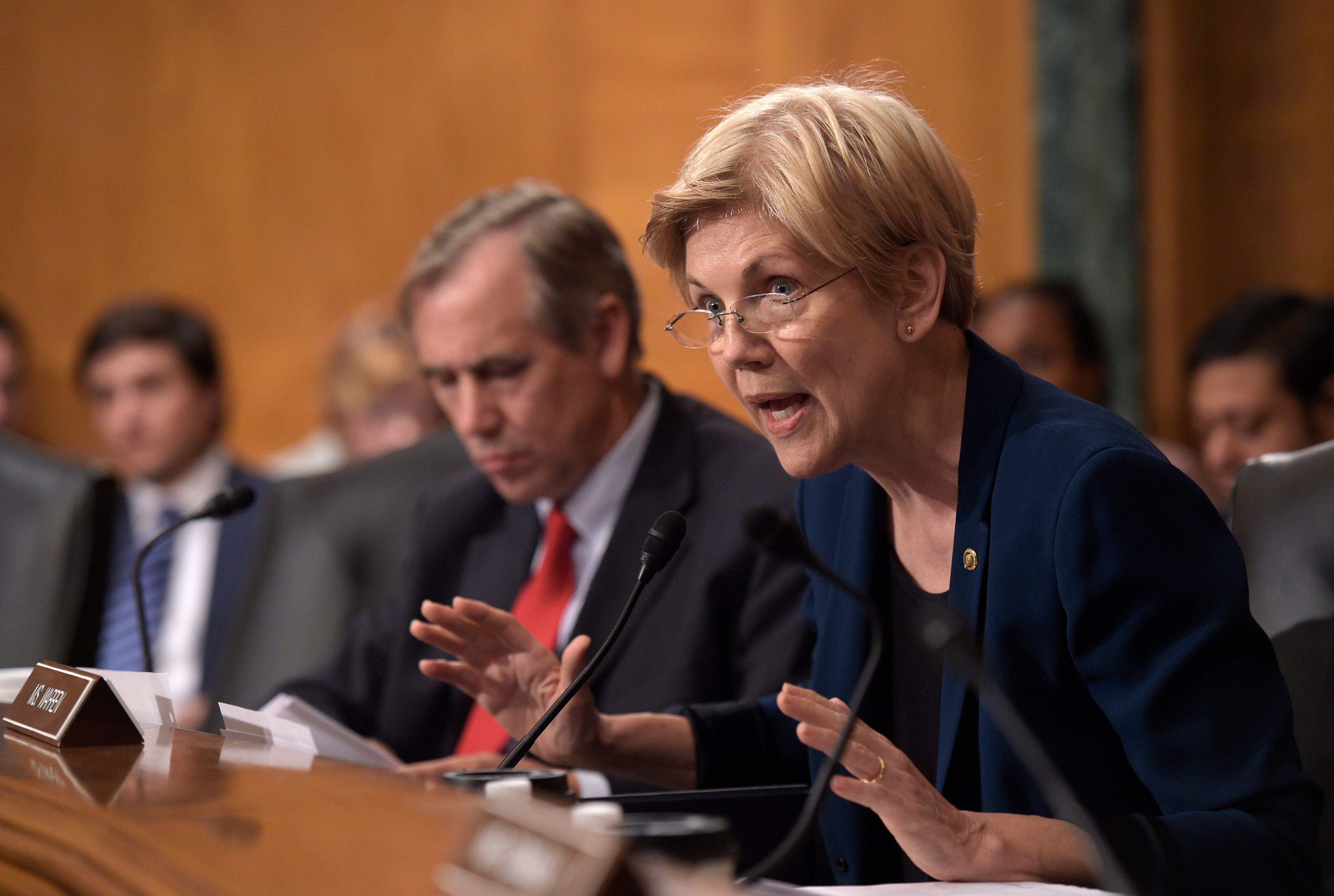 Sen. Elizabeth Warren (D-Mass.), long a foe of Wall Street, is nonetheless acceptable to centrist think tank Third Way. Sande