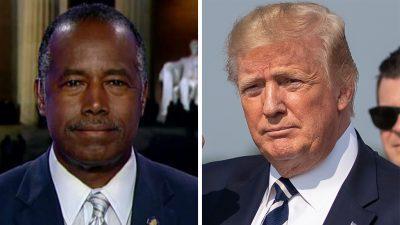 Ben Carson on Trump's feud with Elijah Cummings