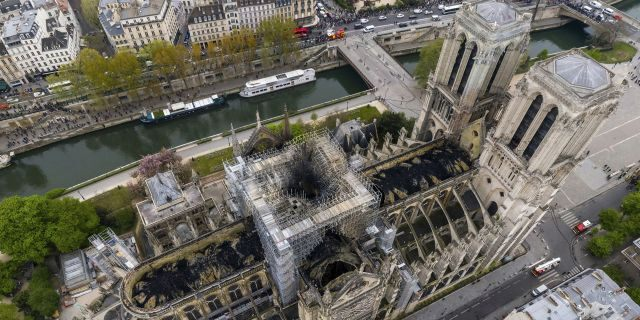 A French activist group has filed a lawsuit over health threats from toxic lead released in Notre Dame Cathedral's devastating fire.