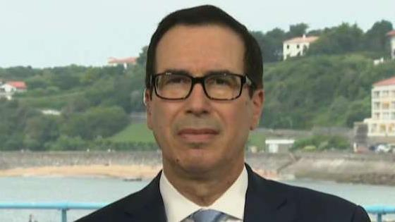 U.S. Treasury Secretary Steven Mnuchin joins Chris Wallace for an exclusive interview on 'Fox News Sunday.'