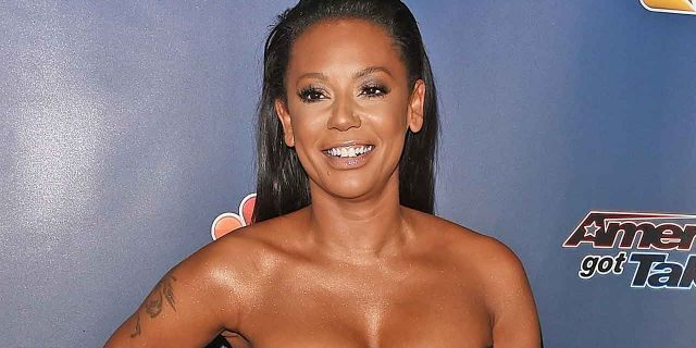 Mel B shocked fans when she posted a video nude from the shower. She wasn't alone — the Spice Girl brought her dog along to suds up with her.