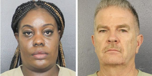 """Althia Meggie, 36, of Broward County surrendered to police around noon on Monday after Meggie and three other employees were notified last week """"that charges were being brought,"""" her attorney told Fox News.Former home administrator Jorge Carballo, 62, was also charged in the case and reportedly was one of those who surrendered to the authorities."""