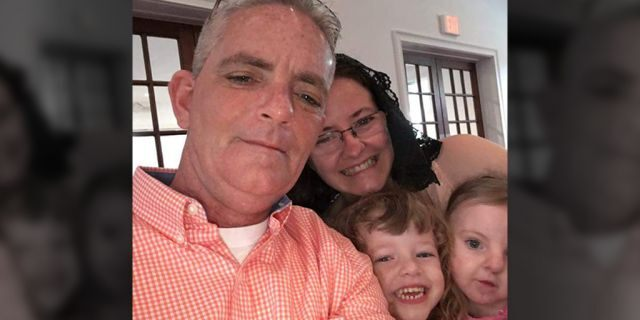 David Ireland, 50, of Orlando, Fla.has undergone three operations which removed about 25 percent of his skin and is scheduled for one more after contracting a flesh-eating bacteria, his wife said.