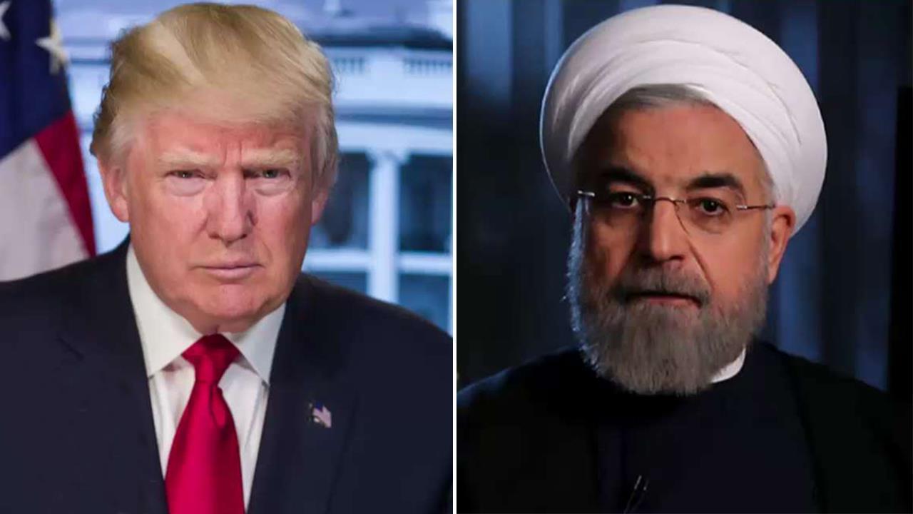 President Trump teases potential Iran meeting