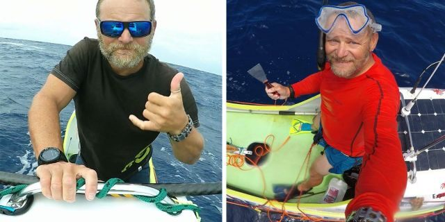 Spanish endurance athlete Antonio de la Rosa reportedly became the first person to stand-up paddleboard across the Pacific Ocean after he paddled his way into Hawaiifrom California.