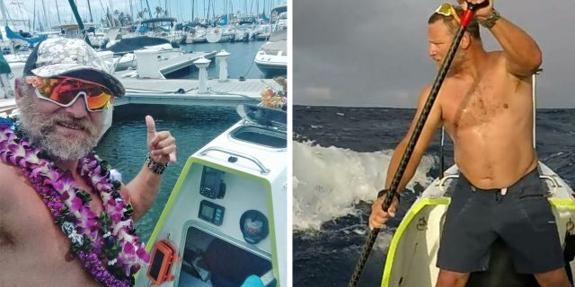 De la Rosa reportedly said it took him 76 days, 5 hours, and 22 minutes to cross nearly 3,000miles of ocean.