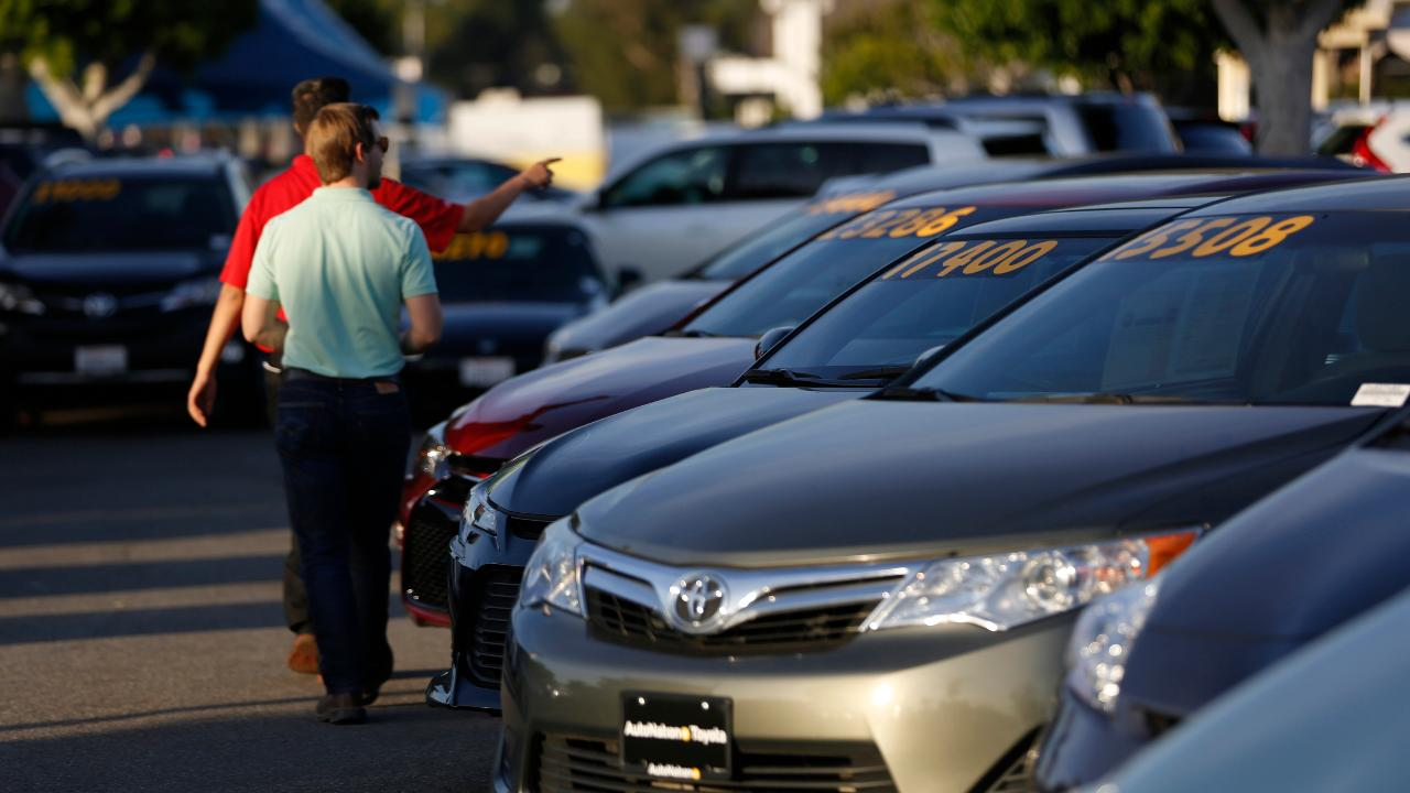 Toyota North America CEO Jim Lentz on the automaker's line of cars and trucks, the outlook for the company and why tariffs are the company's biggest concern.