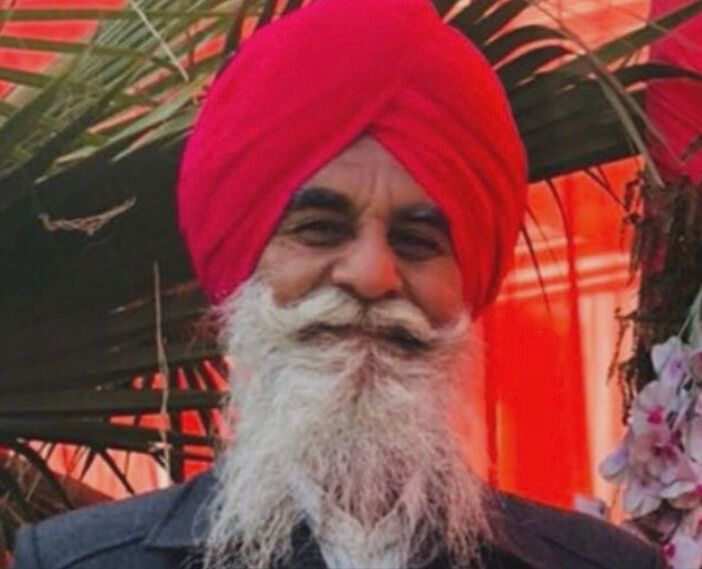 Parmjit Singh, 64, a grandfather and volunteer in his community, was fatally stabbed in Tracy, California.