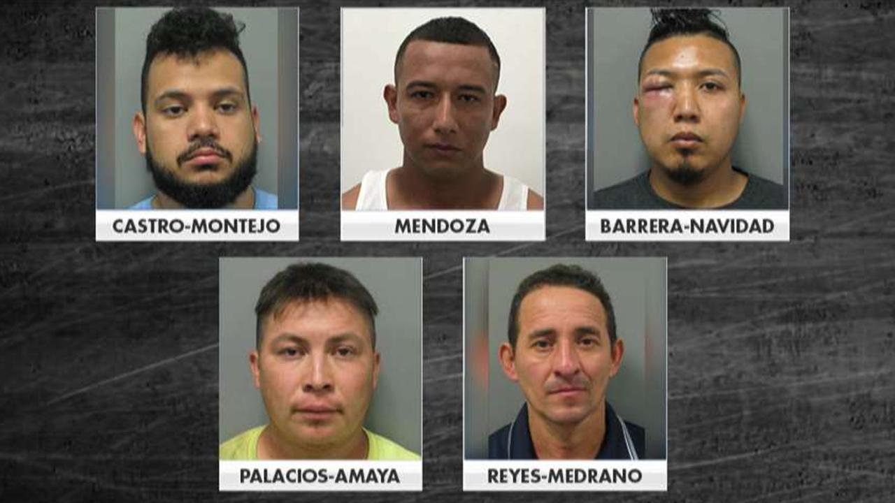 Five undocumented migrants arrested on rape charges over the last month in Maryland county