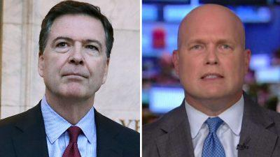 Matthew Whitaker on potential IG report on James Comey