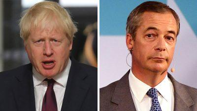 Nigel Farage reacts to Boris Johnson suspending Parliament ahead of Brexit date