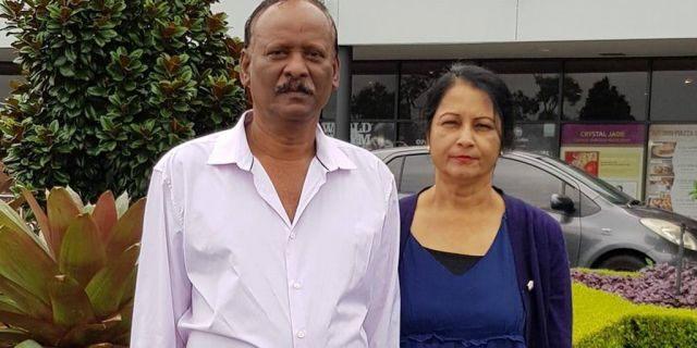 Nirmal Kumar, 63, his wife Usha Devi, 54.