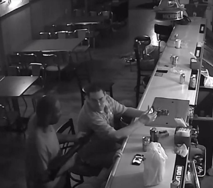 Tony Tovar deals with an armed robber in St. Louis.