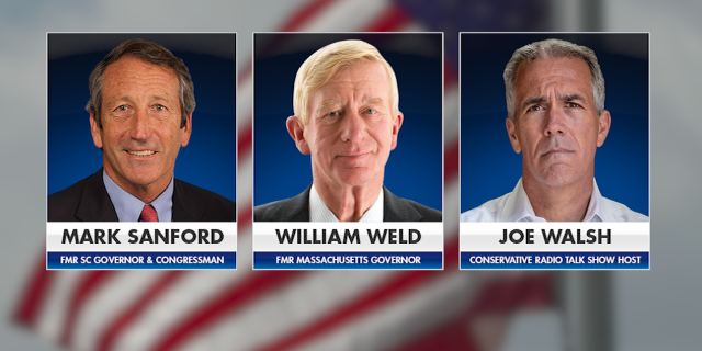 If he chooses to run, Sanford will join conservative radio talk show host and former Rep. Joe Walsh, a one-term Tea Party lawmaker who has a history of making racist comments, and former Massachusetts Gov. Bill Weld, who ran for vice president in 2016 on the Libertarian ticket.