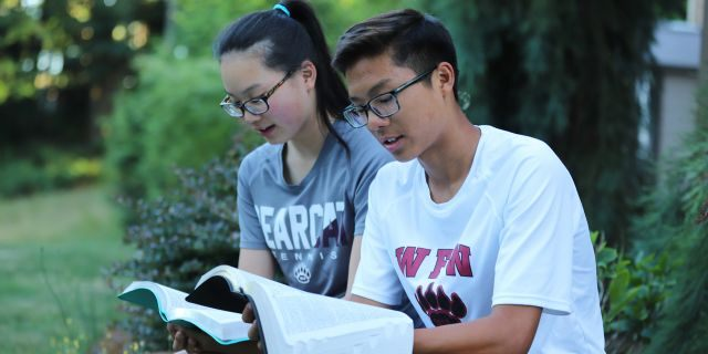 Joelle, 17, and Joseph, 15, are both baptized Seventh-day Adventists and observe Saturday as Sabbath, not practicing or playing tennis on their holy day.
