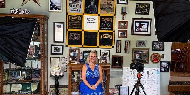 Gold Star mother Linda Dillon's son, Army Ranger Benjamin Dillon died Oct. 7, 2007, in Mosul, Iraq. (Keith Sherman)