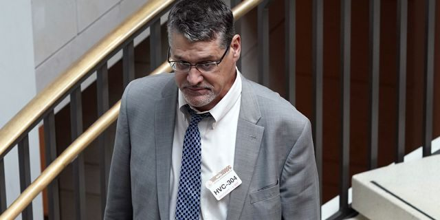 Glenn R. Simpson, co-founder of the research firm Fusion GPS, in November 2017. (AP Photo/Pablo Martinez Monsivais, File)