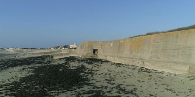 The Atlantic Wall constructed by the German military in northern France during World War II. (Science Channel)