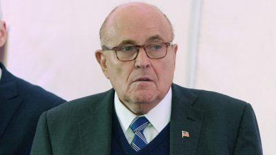 Rudy Giuliani on Trump accuser's case getting dismissed