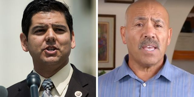 Rep. Raul Ruiz, D-Calif., could face a challenge from Republican Raul Ruiz, right, in a 2020 House race. The names could add confusion for voters on next year's ballot.