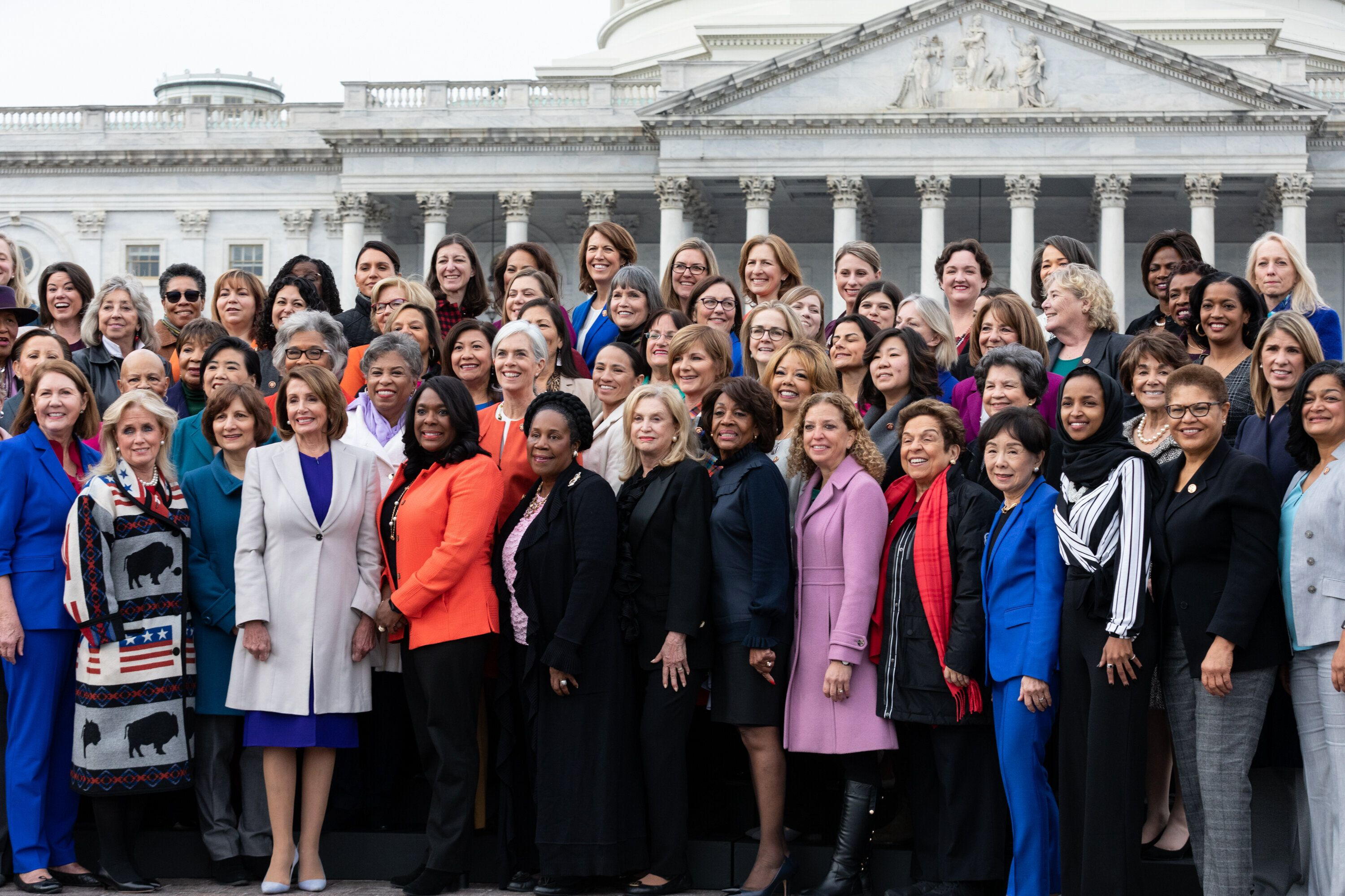 The 2018 elections put nearly 90 Democratic women in the House. On the Republican side, there are just 13.