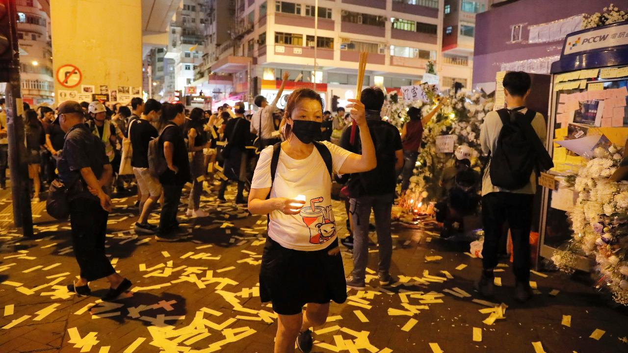 Next Digital founder Jimmy Lai explains what's at stake in the Hong Kong protests.