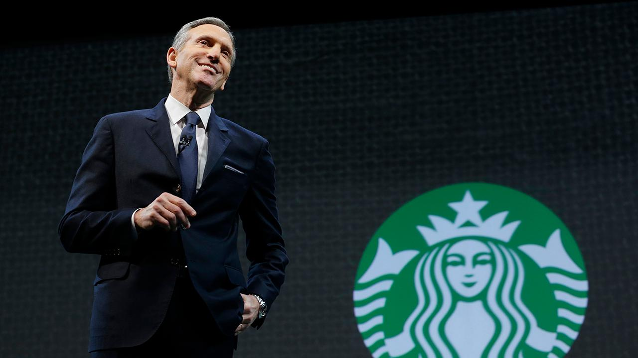 FBN's Maria Bartiromo on former Starbucks CEO Howard Schultz's decision to not run to for president in 2020.