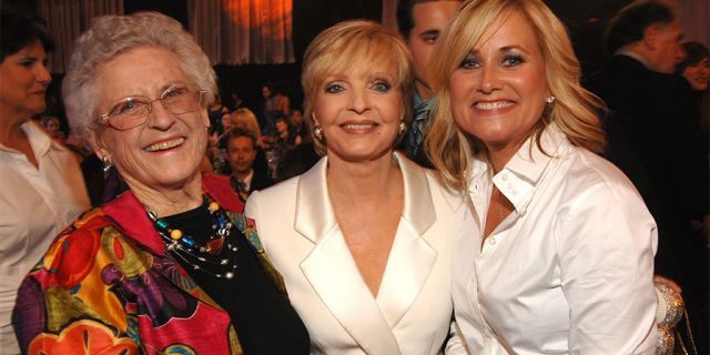 Left to right: Ann B. Davis, Florence Henderson and Maureen McCormick (Photo by Lester Cohen/WireImage)
