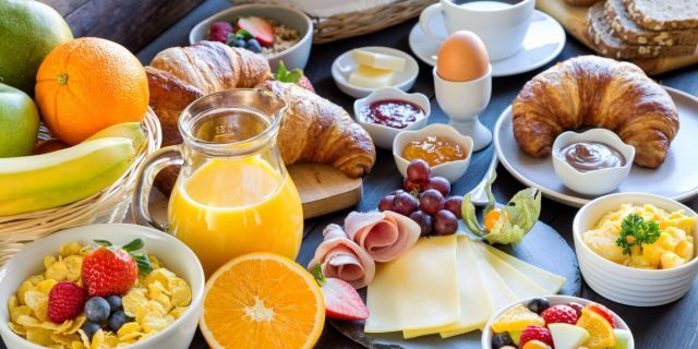 70 percent of respondents in a new study say they feel more energized after having a second breakfast.