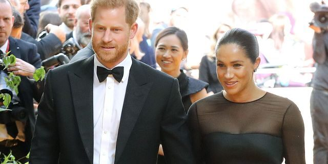"""Prince Harry, Duke of Sussex and Meghan Markle, Duchess of Sussex attend """"The Lion King"""" European Premiere at Leicester Square on July 14, 2019 in London. The couple's penchant for private flights has come under fire for its contrast to their environmental consciousness."""