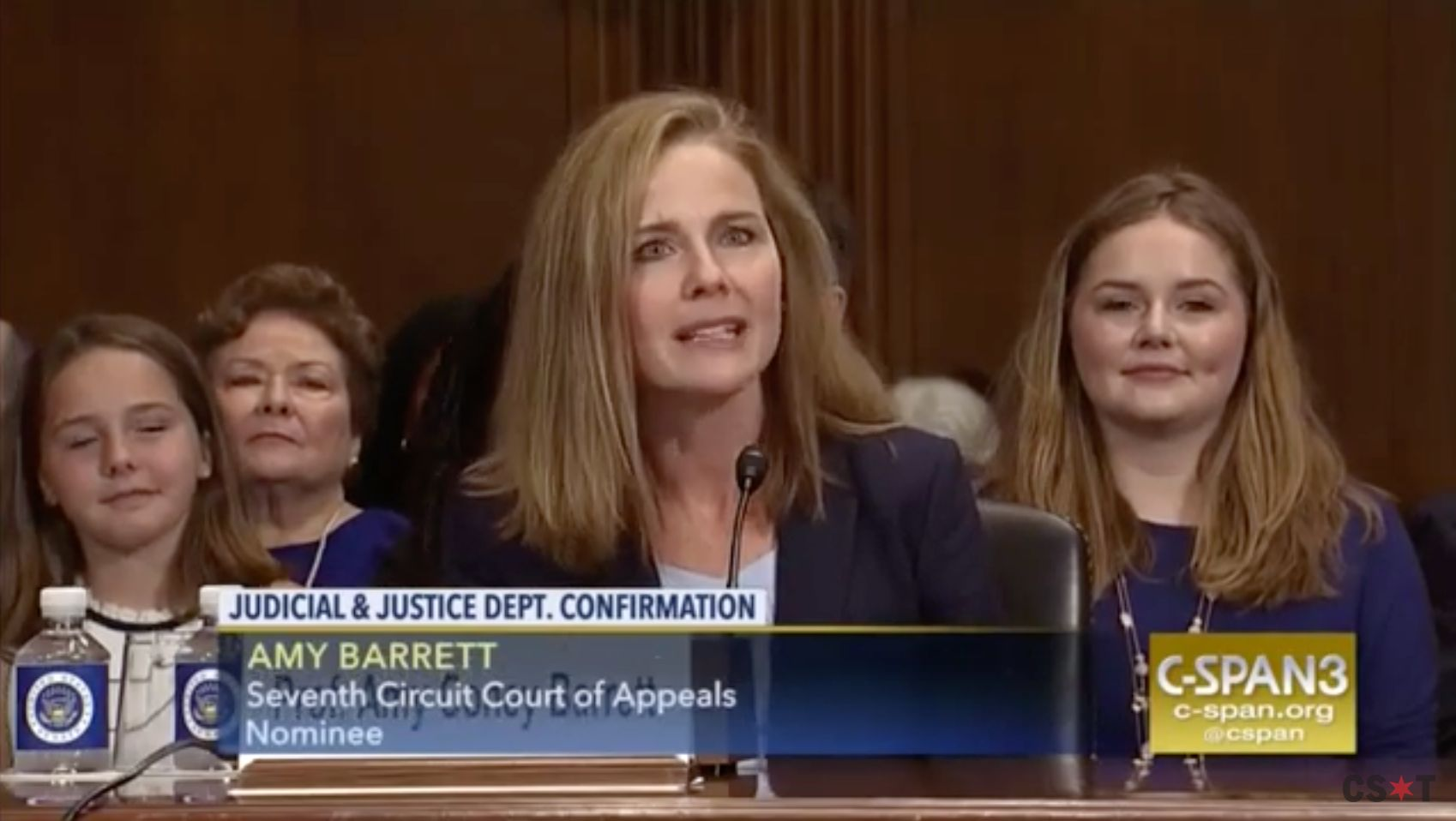 """Amy Coney Barrett thinks Roe v. Wade was """"an erroneous decision"""" and also is on Trump's short list for Supreme Court nominees"""