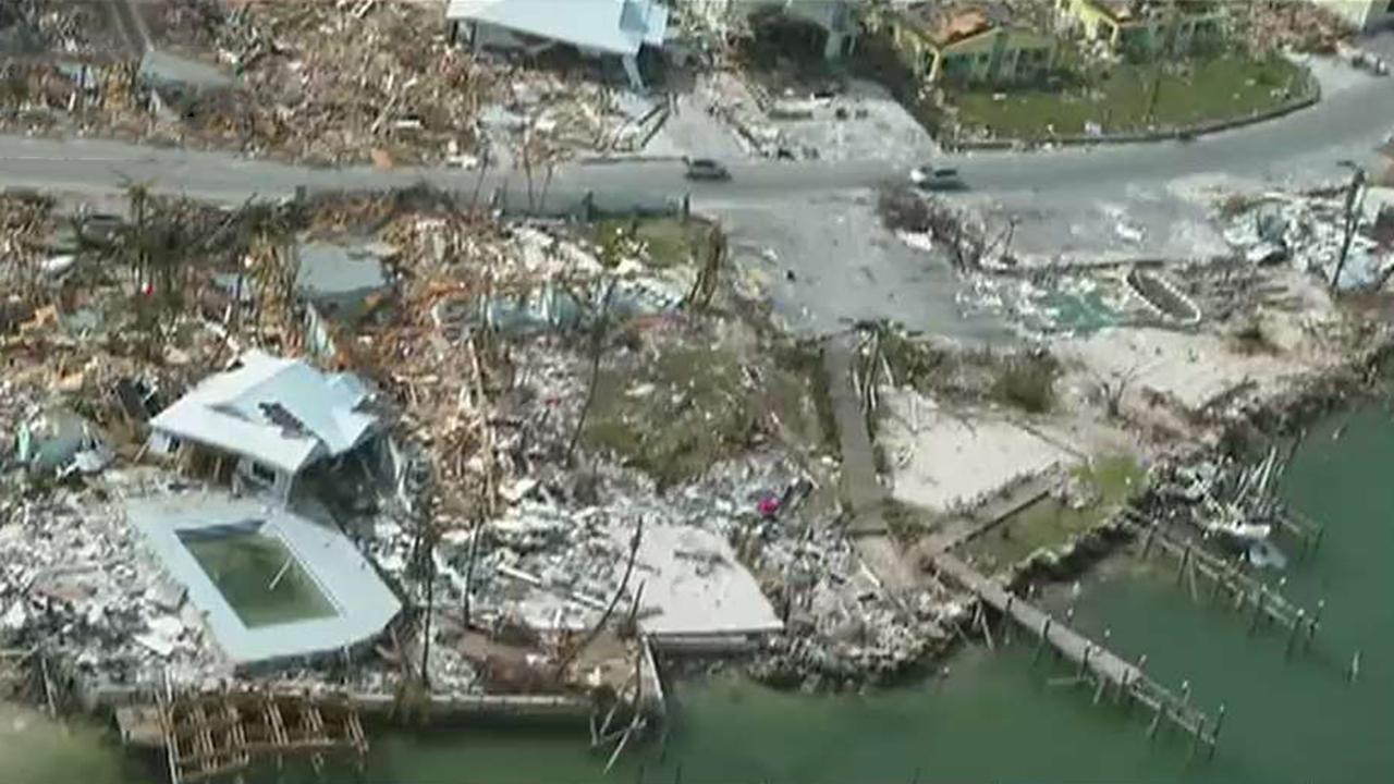 Crews race to rescue Hurricane Dorian survivors in the Bahamas
