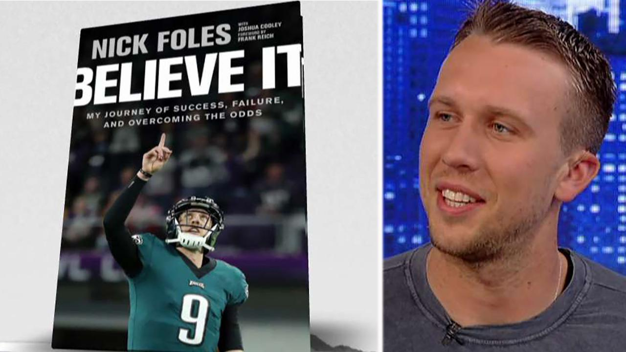 Nick Foles opens up on his unlikely path to the Super Bowl