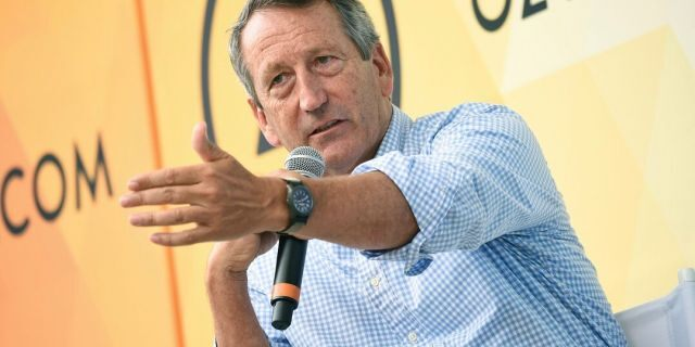 In this July 21, 2018, file photo, Republican politician Mark Sanford speaks at OZY Fest in Central Park in New York. Sanford, the former South Carolina governor and congressman, has decided to launch a longshot Republican challenge to President Donald Trump. (Photo by Evan Agostini/Invision/AP, File)