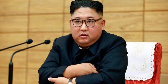North Korean leader Kim Jong Un. (Korean Central News Agency/Korea News Service via AP, File)
