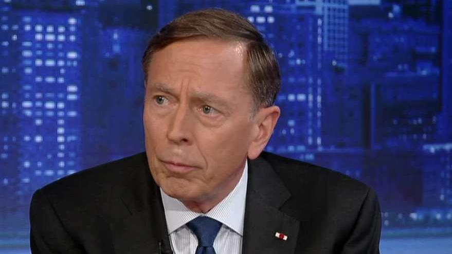 Petraeus: A lot of us had reservations about Taliban keeping to their side of a deal