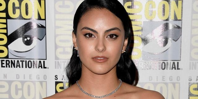 "Camila Mendes attends the ""Riverdale"" Photo Call during 2019 Comic-Con International at Hilton Bayfront on July 21, 2019 in San Diego, Calif. The actress recently revealed that she is a survivor of sexual assault."
