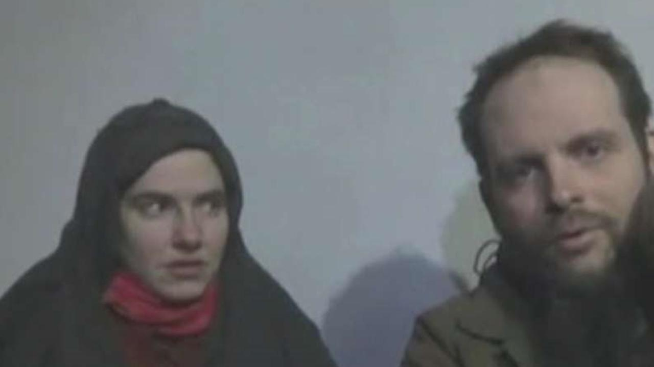 Freed hostages refuse to board US military plane