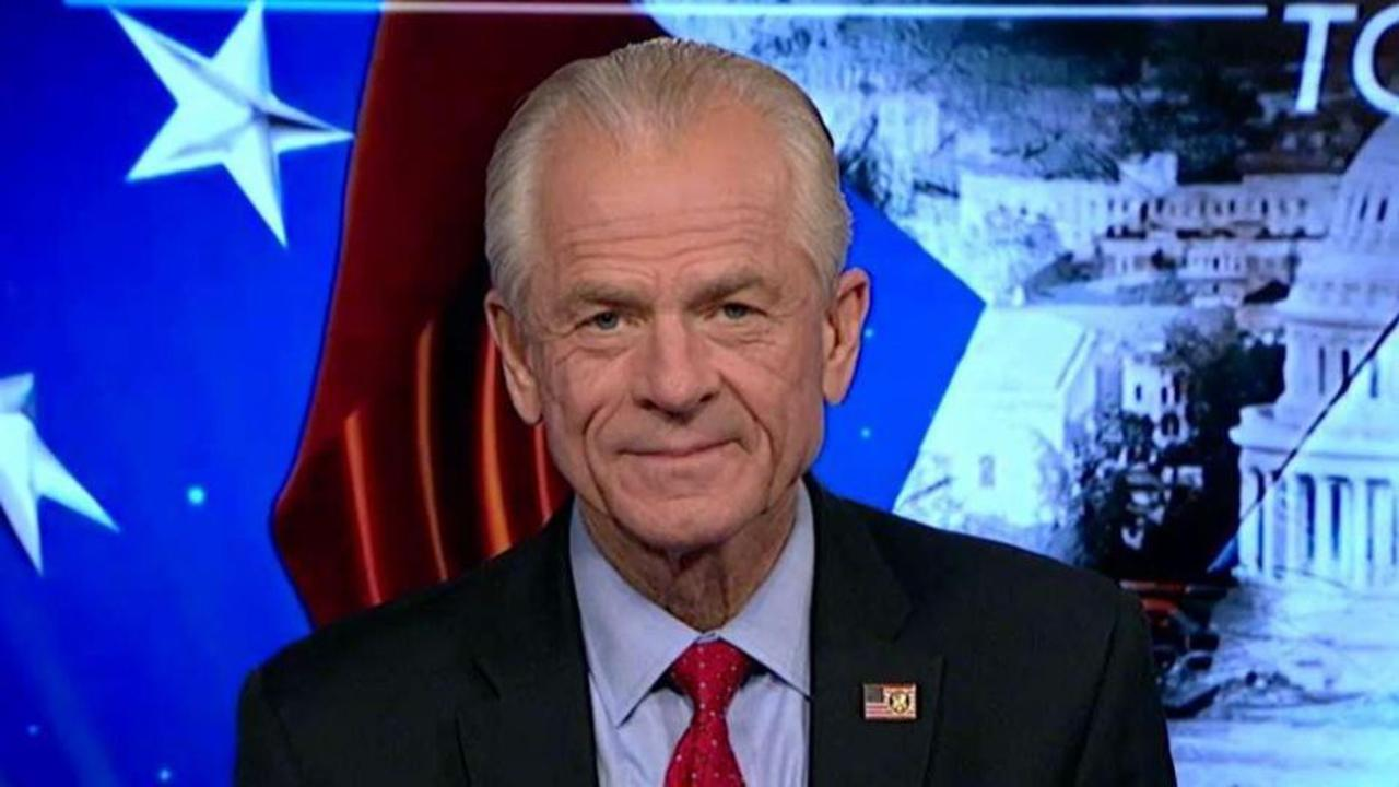 Economic adviser to President Trump Peter Navarro blames Jerome Powell for the current state of the US dollar and said he wants the USMCA to be passed as soon as possible.