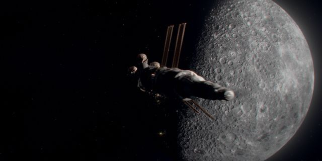 """""""Ad Astra"""" opens at theaters nationwide on September 20. (FRANCOIS DUHAMEL/TWENTIETH CENTURY FOX)"""