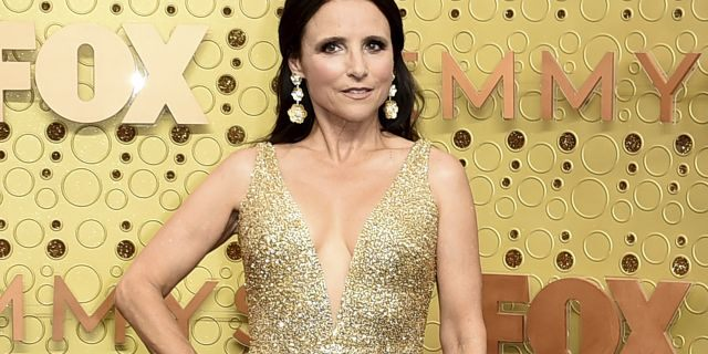 Julia Louis-Dreyfus arrives at the 71st Primetime Emmy Awards on Sunday, Sept. 22, 2019, at the Microsoft Theater in Los Angeles.