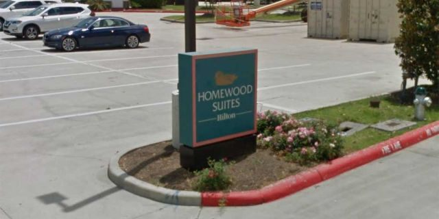 Smith manned the front desk, answered questions, attended to the alarms and helped provide hot breakfast and dinner for the Homewood Suites' guests.