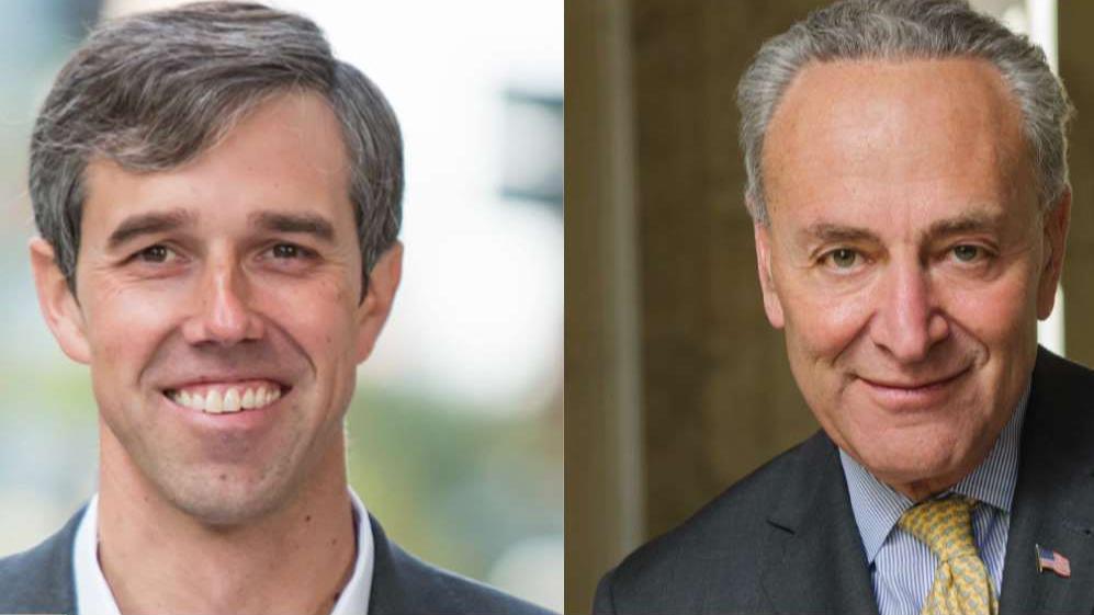 Beto O'Rourke, Chuck Schumer clash over gun control reform