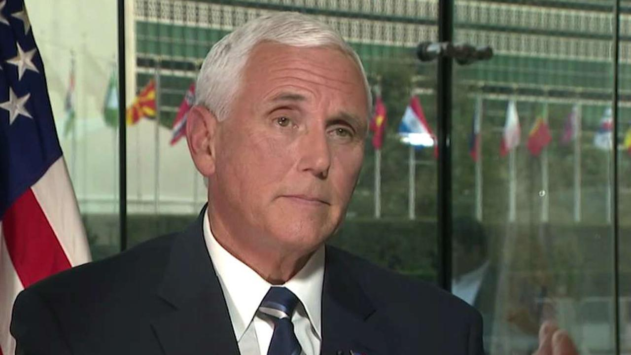 Pence calls out the 'assume the worst media' after whistleblower complaint