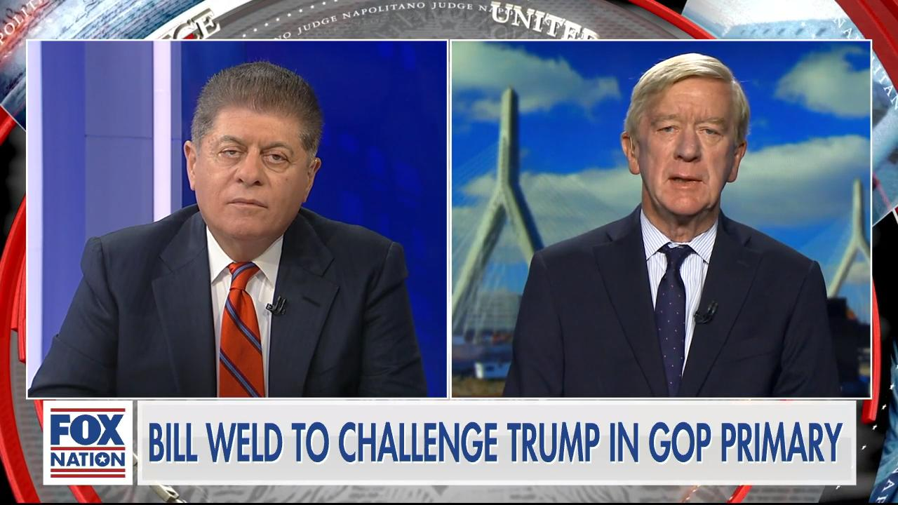 Bill Weld talks to Judge Nap on his effort to challenge Trump in GOP primary