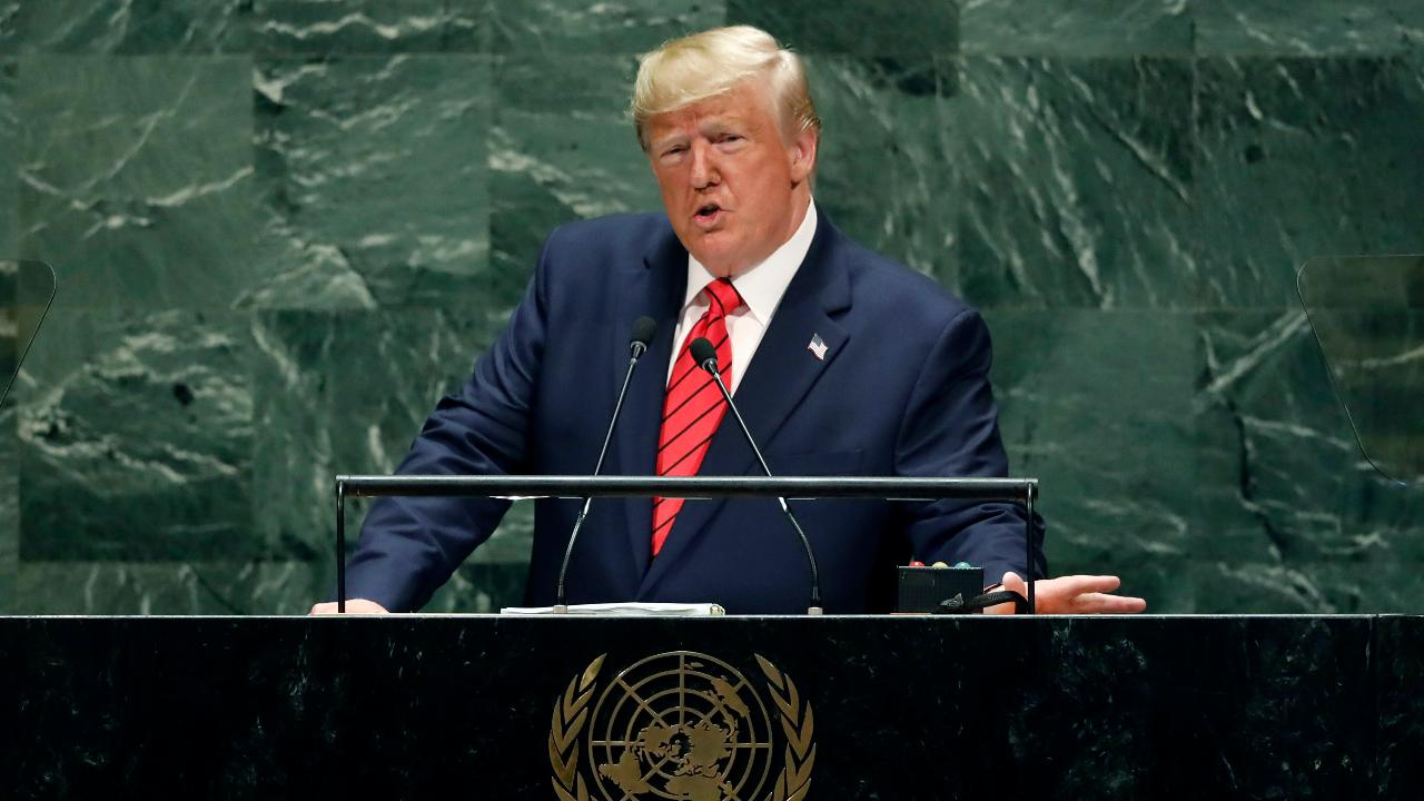 President Trump: The future does not belong to globalists