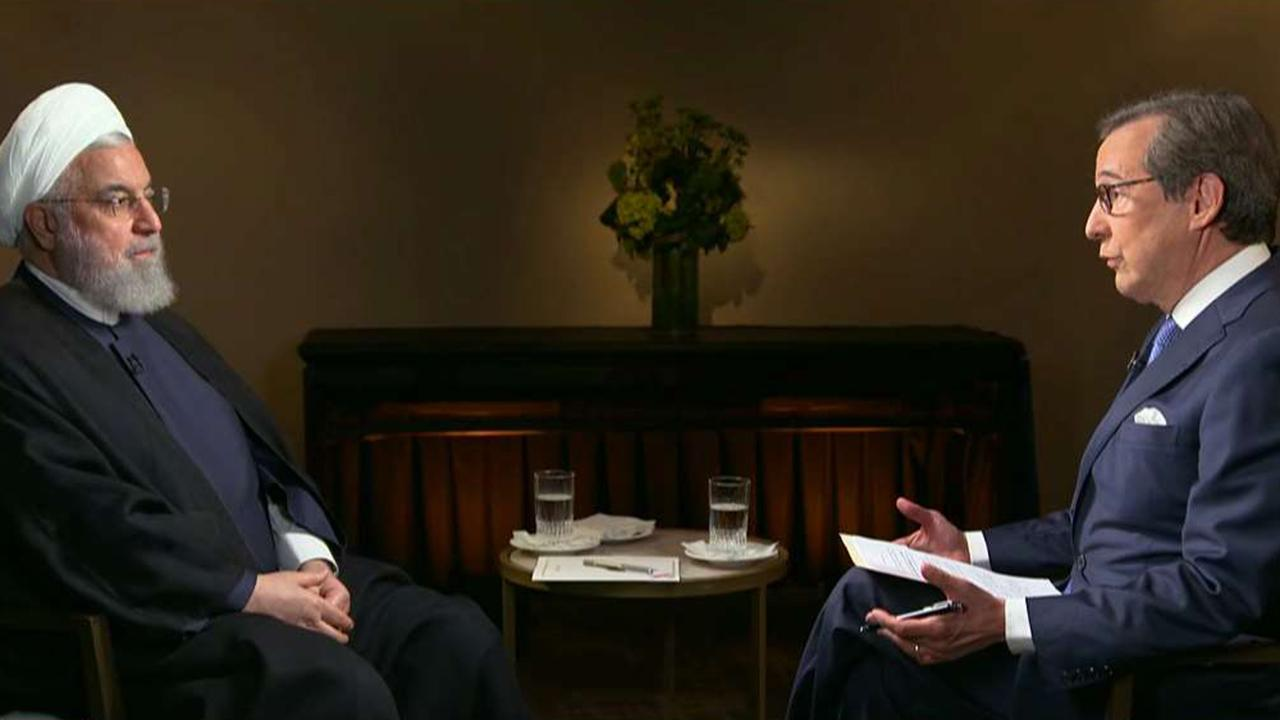 Chris Wallace sits down with Iranian President Hassan Rouhani