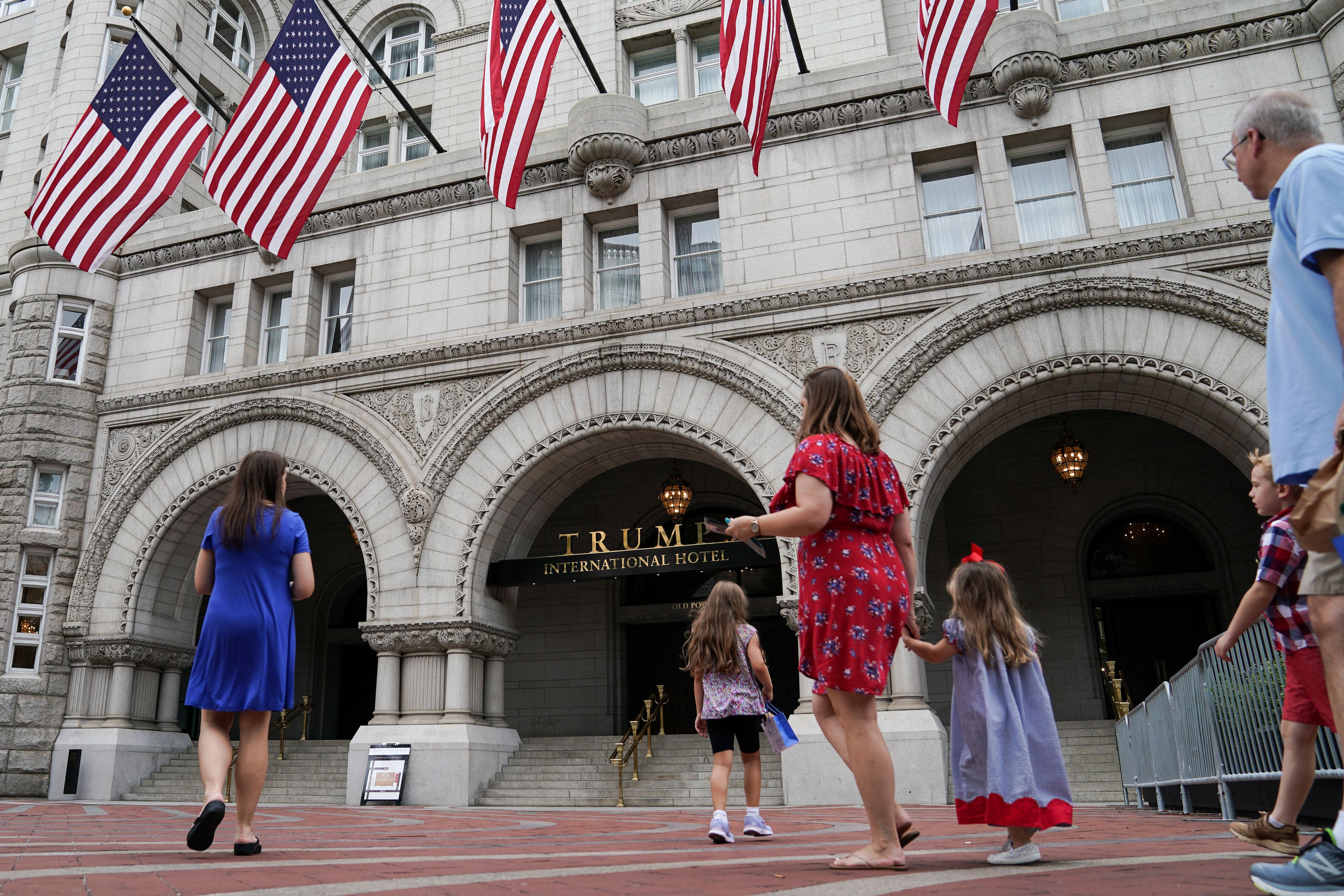 Trump International Hotel in Washington has an unfair advantage in attracting foreign visitors in town to curry favor with th