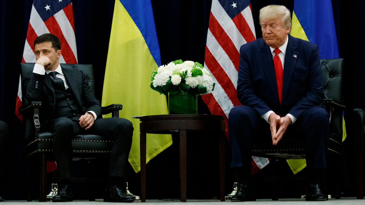 Pentagon certified in May 2019 that Ukraine had taken 'substantial actions' to clean up corruption
