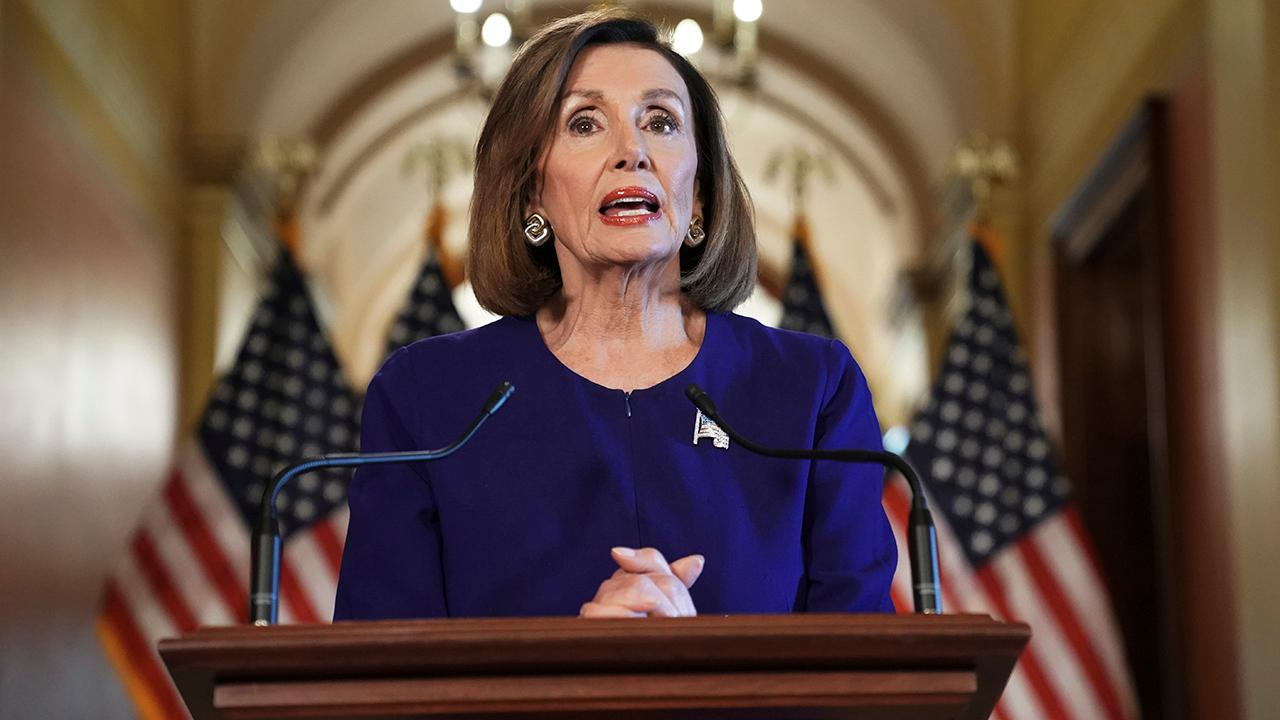 Nancy Pelosi leads charge on impeachment